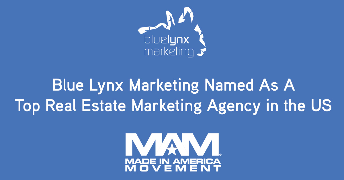 Blue Lynx Marketing Named As A Top Real Estate Marketing Agency in the US